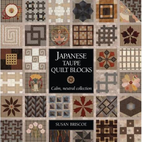 Japanese Taupe Quilt Blocks - 128 pagine