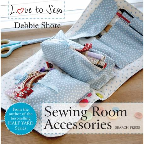 Love to Sew: Sewing Room Accessories - 64 pagine