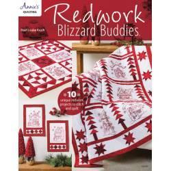 Redwork Blizzard Buddies - 48 pagine