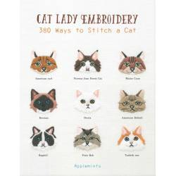 Cat Lady Embroidery - 120 pagine