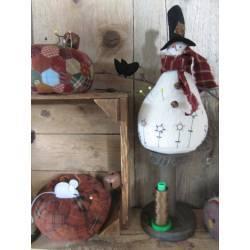 Pincuschions - Cartamodello per Puntaspilli Zucca e Pupazzo di Neve