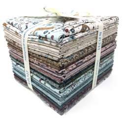 Bundle di 36 Fat Quarter della Collezione One Stitch At A Time by Lynette Anderson