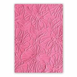 3-D Textured Impressions Embossing Folder Azaleas by Courtney Chilson