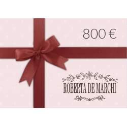 Gift Card da 800 €