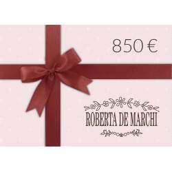 Gift Card da 850 €