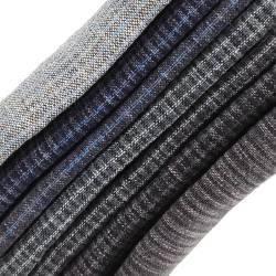 Pacchettino Giapponese, 7 Tessuti 33 x 35 cm, Blu Grigio