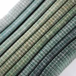 Pacchettino Giapponese, 9 Tessuti 33 x 35 cm, Verde Azzurro