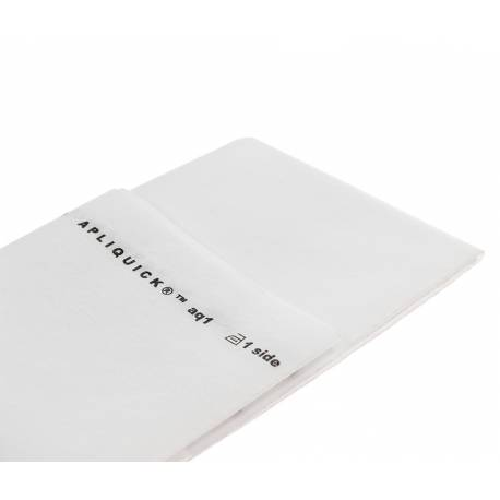 Apliquick, Fliselina Termoadesiva 90x100cm per Tecnica Appliquè su Tessuto Apliquick - 1