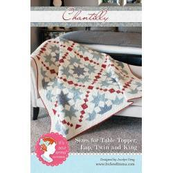 Chantilly Quilt - Cartamodello Patchwork in varie misure