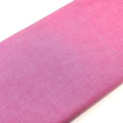 Tessuto Tinto in Filo Rosa Scuro Tinta Unita, h145