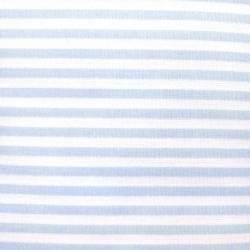Tessuto Sostenuto Tinto in Filo a Righe Azzurre e Bianche, h140