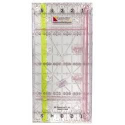 Guidelines Ruler 6in x 12in - Righello con guida e salva dita