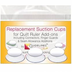 Replacement Suction Cups - Ventose di ricambio - 3pz