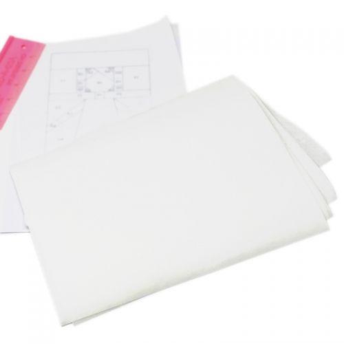 10 Fogli A4 di Carta Semi-Trasparente per Paper Piecing