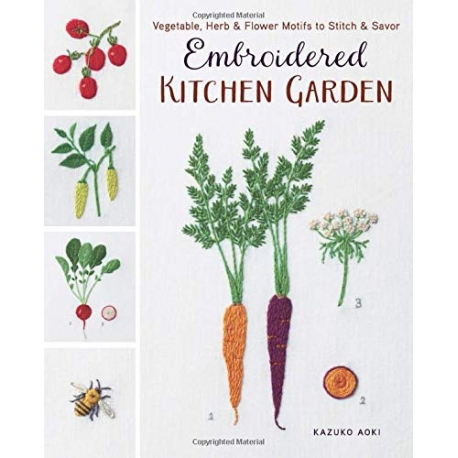 Embroidered Kitchen Garden, Kazuko Aoki