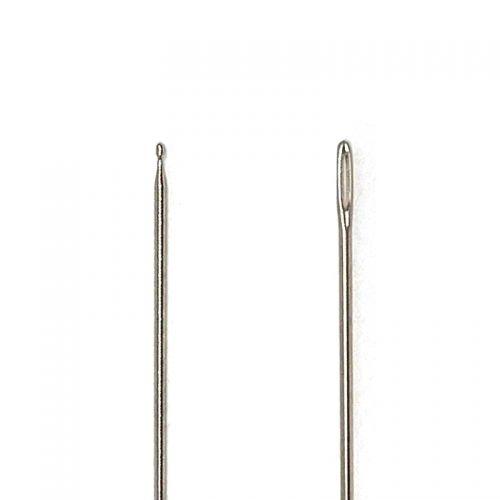2 Aghi con Punta a Sfera per Ricamare - 37 x 0.6 mm