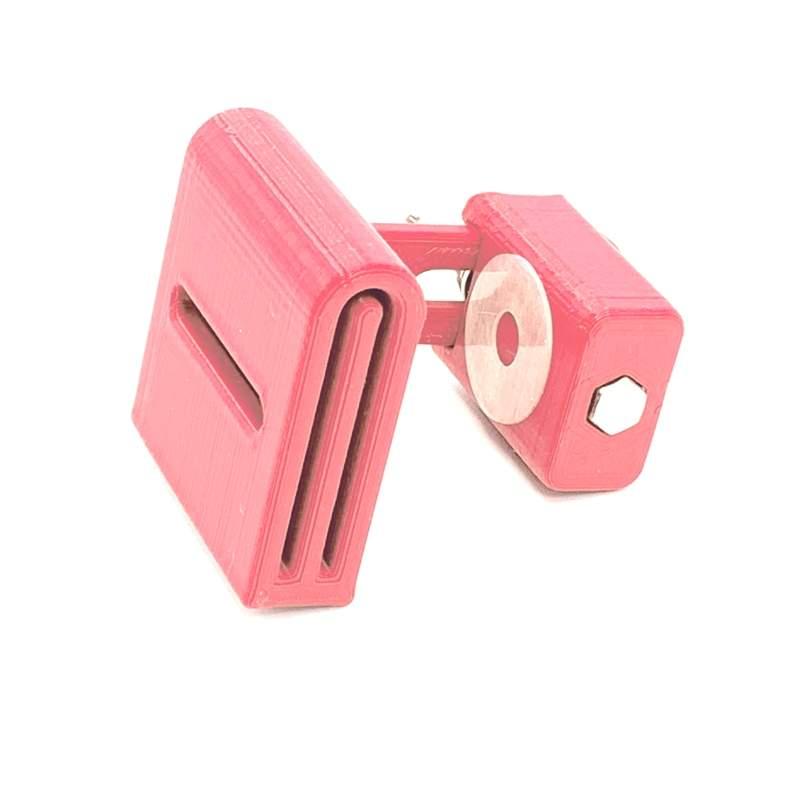 Binding Folder Clip, Terza Mano per Binding - Rosa