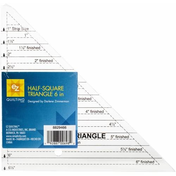Ez Quilting - Half Square Triangle 6 pollici - Squadra in Pollici