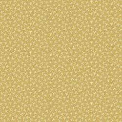Henry Glass - Tealicious by Anni Downs - Yellow Tea Leaf Texture - 110cm