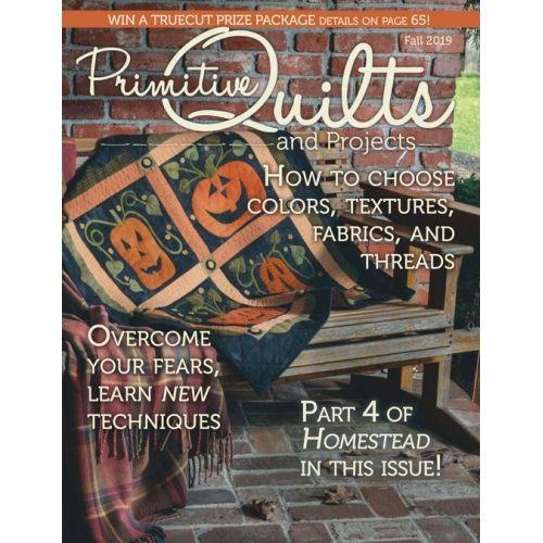 Rivista Primitive Quilts & Projects - Fall 2019