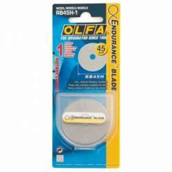 OLFA lame di ricambio, 1x45mm lama al tungsteno