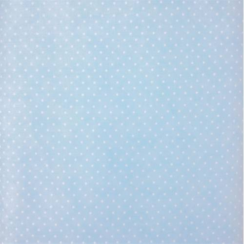Moda Fabrics Essential Dots - Tessuto Celeste Sfumato a Pois