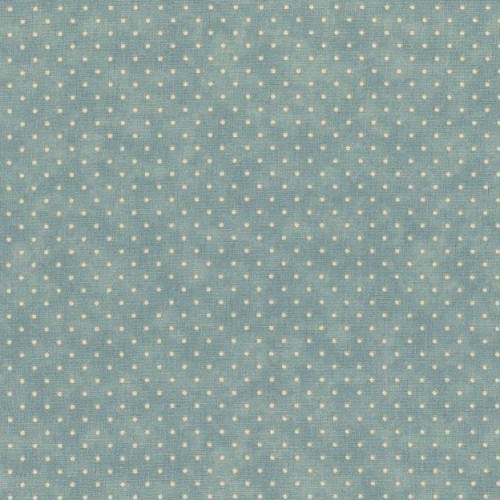 Moda Fabrics Essential Dots - Tessuto Azzurro Sfumato a Pois