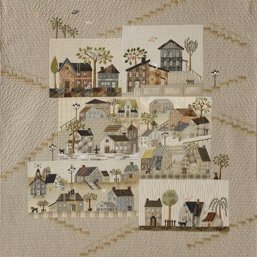 Mystery Quilt - Houses by Yoko Saito