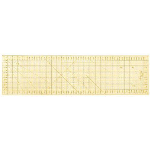 Sew Mate, Righello Patchwork 16 x 60 cm - Griglia Gialla