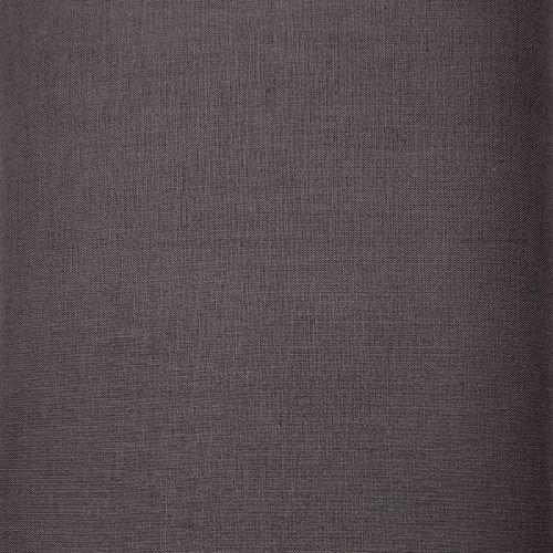 Tessuto Tinto in Filo, Grigio Antracite Solido H150 cm
