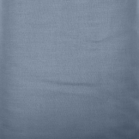 Tessuto Tinto in Filo, Blu Polvere Solido H150 cm