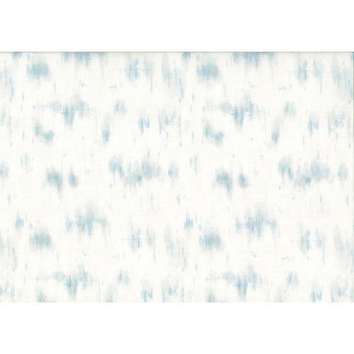 Lecien Centenary 25th by Yoko Saito, tessuto con sfumature azzurre