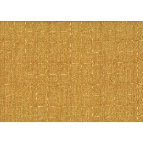Lecien Centenary 25th by Yoko Saito, tessuto giallo senape con linee