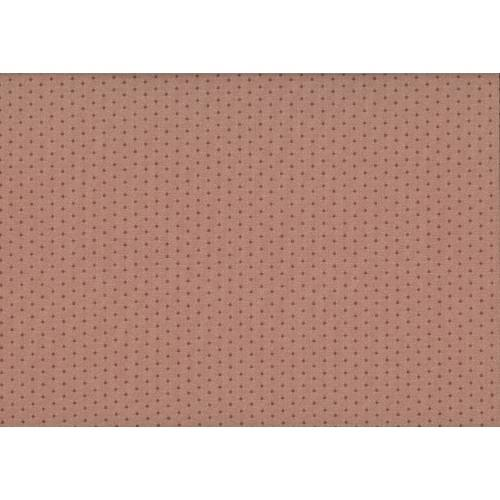 Lecien Centenary Collection 25th, tessuto fondo rosa con pois rossi