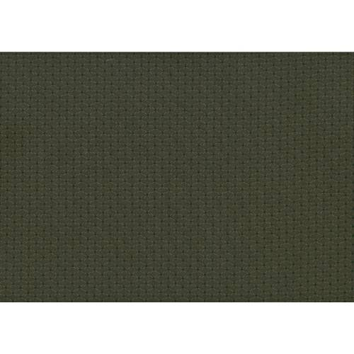 Lecien Centenary Collection 25th, tessuto fondo marrone con pois verdi