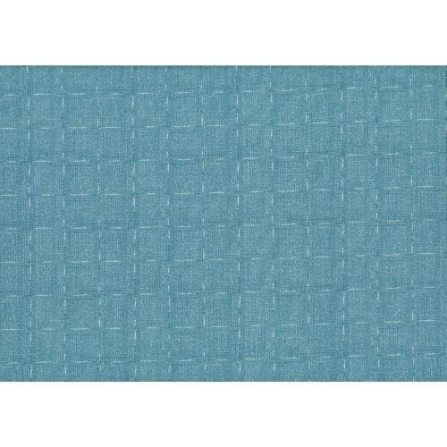 Lecien Centenary 25th by Yoko Saito, tessuto azzurro con linee