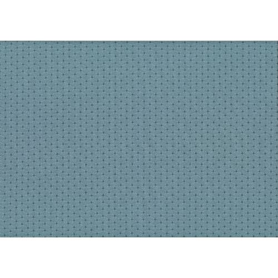 Lecien Centenary Collection 25th, tessuto blu a pois