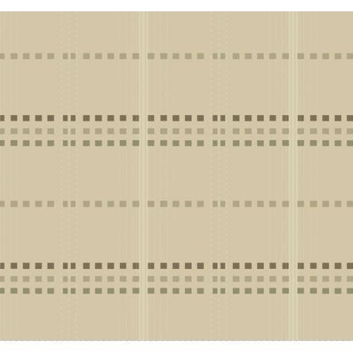 Marcus Fabrics Drywall, Tessuto Giapponese Tinto in Filo, Beige con Quadrati