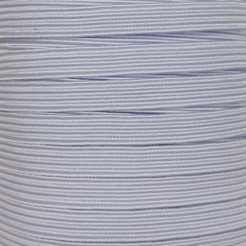 Nastro Elastico Piatto da 5 mm - Bianco