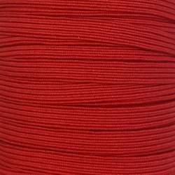 Nastro Elastico Piatto da 5 mm - Rosso