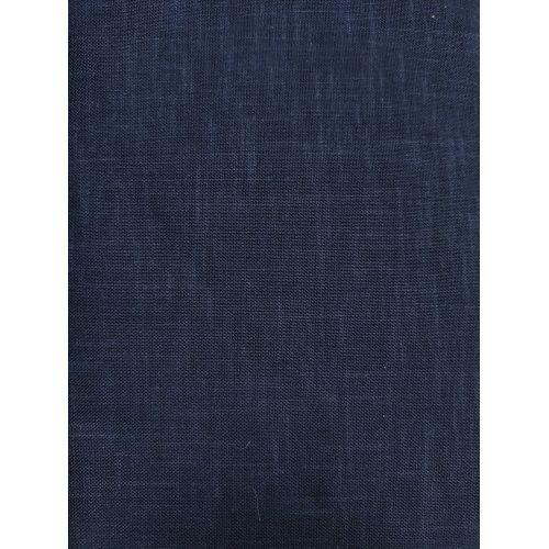 Tessuto di Cotone Sostenuto per Sashiko, Blu Polvere Tinta Unita