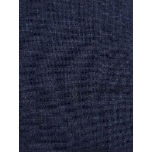 Tessuto di Cotone Sostenuto per Sashiko, Blu Notte Tinta Unita