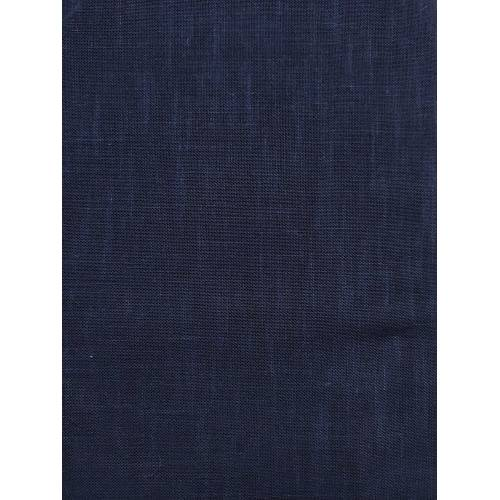 Tessuto di Cotone Leggero per Sashiko, Blu Notte Tinta Unita