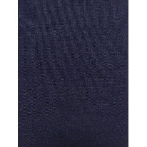 Tessuto Lino Cotone Leggero per Sashiko, Blu Polvere Tinta Unita