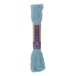 Filo di cotone per Sashiko azzurro carta da zucchero da 20 mt