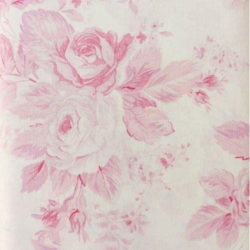 Treasures Rose Garden, Tessuto Rosa con Rose