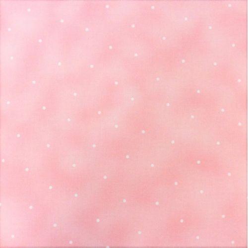 Maywood Studio Simpatico, Tessuto Rosa Sfumato a Pois