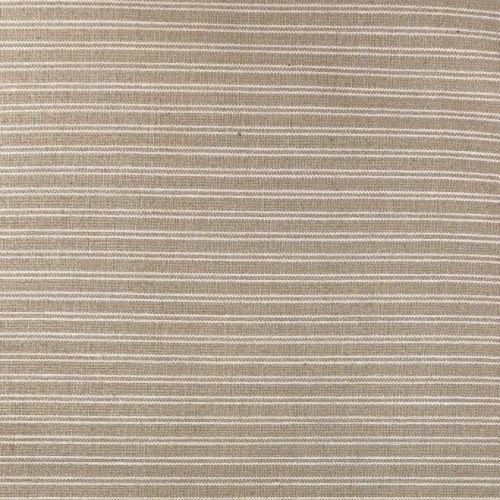Moda Fabrics, Tessuto Fondo Beige con Righe Sottili Bianche