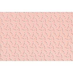 Lecien Madame Fleur by Jera Brandvig, tessuto rosa con rami di rose