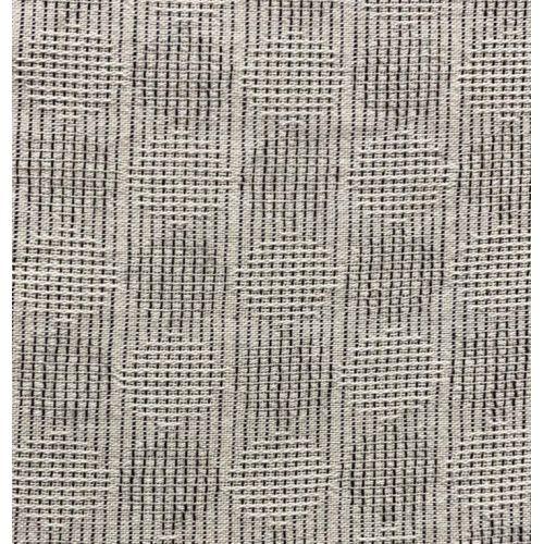 Tessuto Giapponese Tinto in Filo, Tessuto Grigio con cerchi